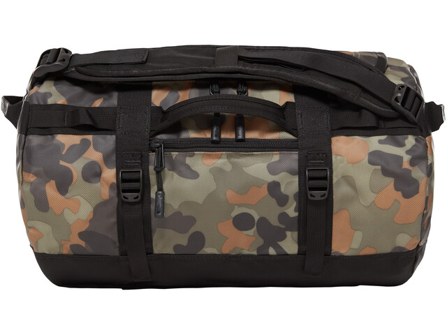 The North Face Base Camp Duffel XS new taupe green macrofleck camo print/tnf black